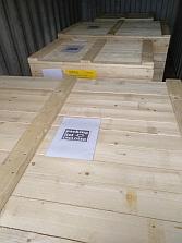 Экспортная упаковка станков 1АК200