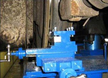 Станок для обточки колес тепловозов 1AK200 ZIP