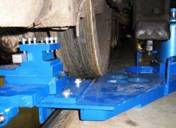 Станок для обточки колес тепловозов ТЭМ-2 1AK200 ZIP