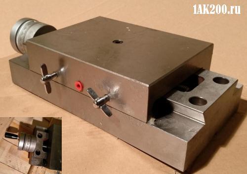 Направляющие типа ласточкин хвост колесотокарного станка 1AK200