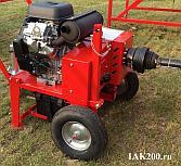Автономный вращатель колесной пары 1АК200 с двигателем внутреннего сгорания
