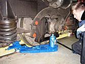 Мобильный станок 1AK200 ZIP для обточки колёсных пар тепловозов без выкатки