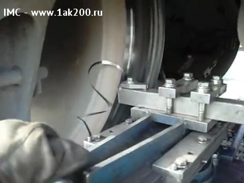 Мобильный колесотокарный станок для обточки колёсных пар локомотивов, тепловозов и электровозов