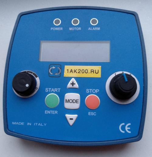 Пульт вращателя колесной пары WRD-380 мобильного колесотокарного станка 1АК200